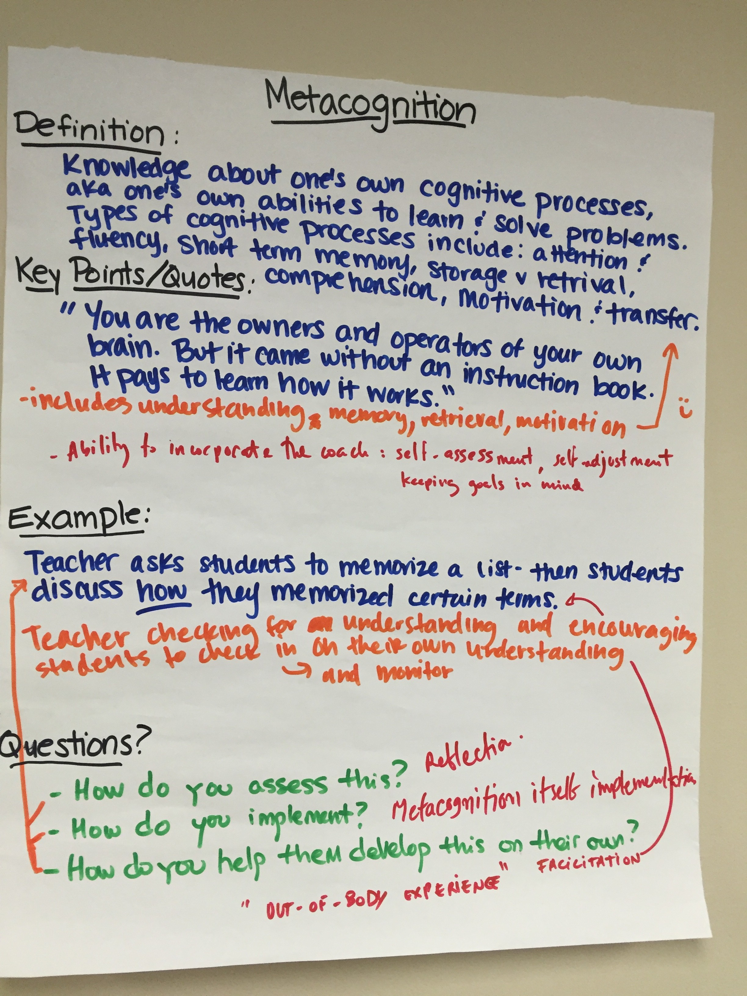 Metacognition+Poster
